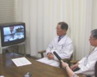 信州大学付属病院との遠隔医療