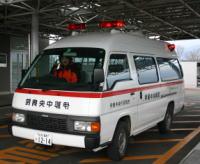病院搬送車