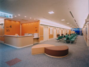 Outpatient waiting room
